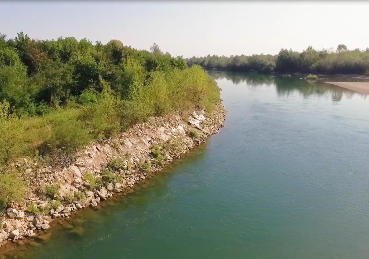 Радови на ријеци Дрини код Јање