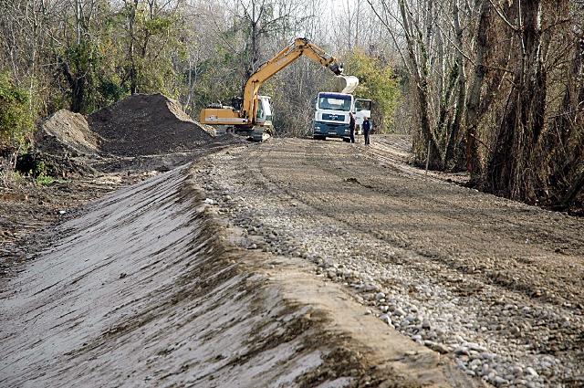 Завршне припреме за почетак изградње дринског насипа у Семберији