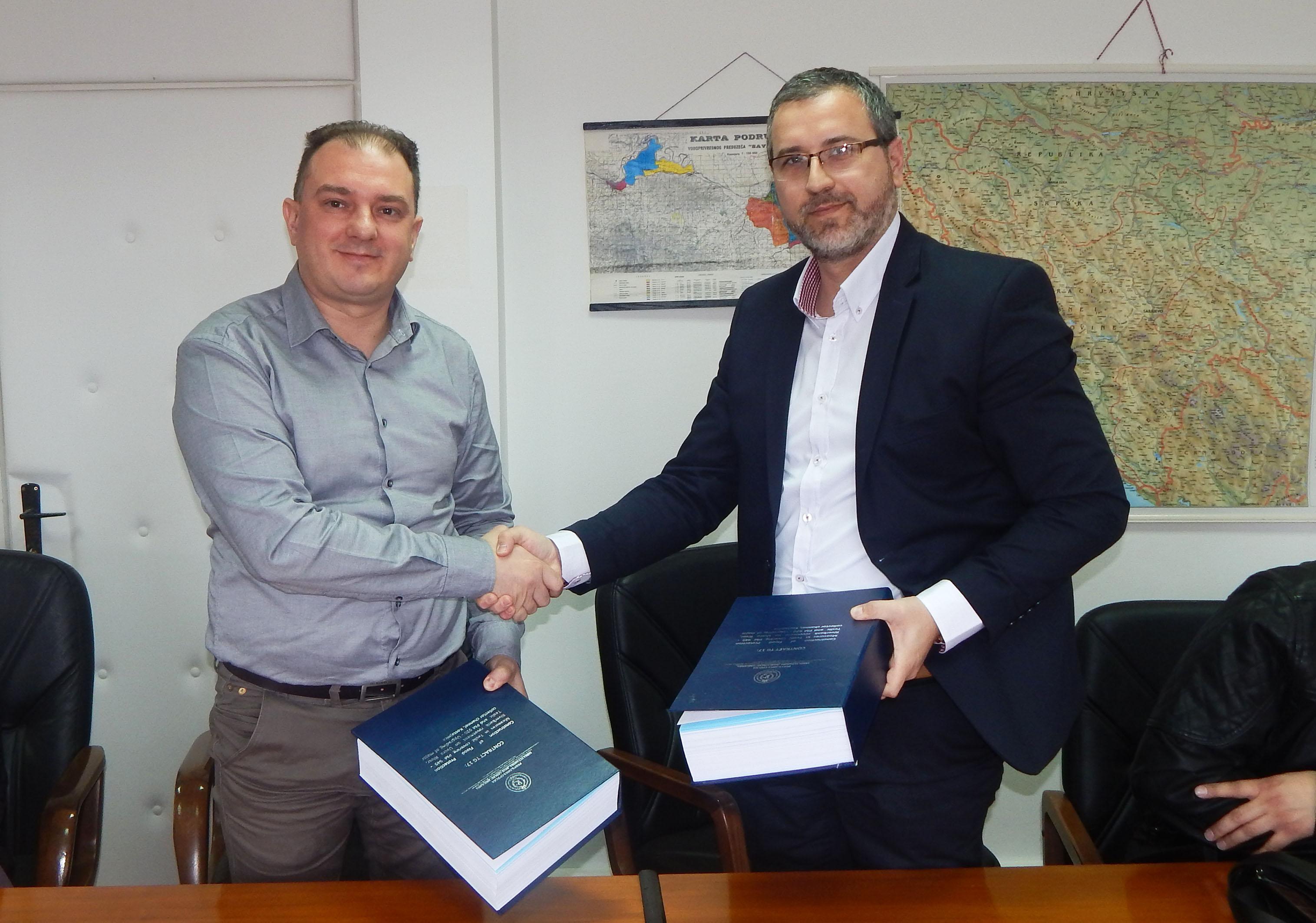 Потписан уговор за регулацију ријека Тавије и Велике Усоре
