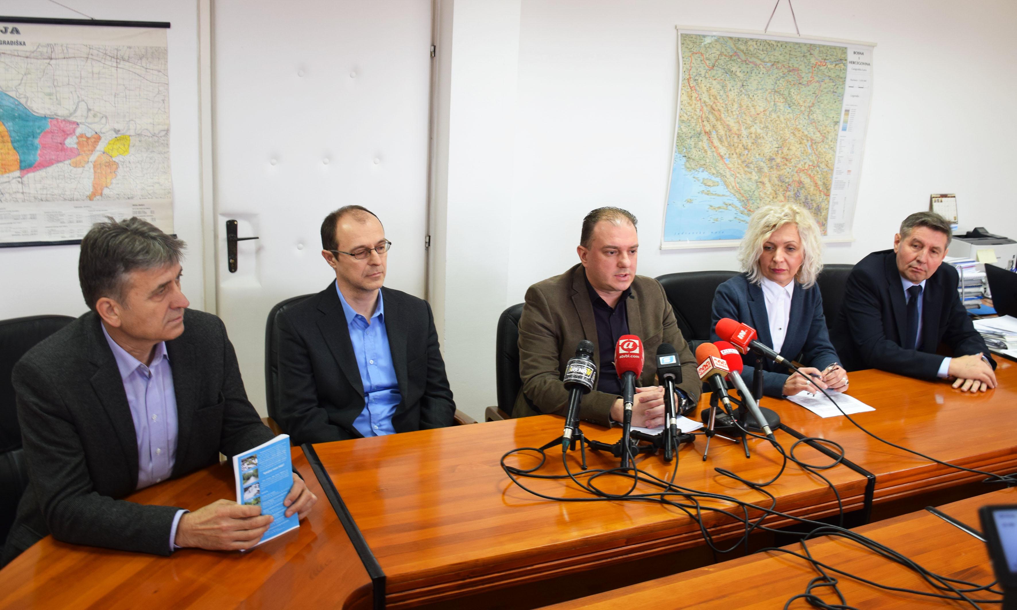 Конференција за медије поводом Свјетског дана вода: Стабилна ситуација у водопривреди РС
