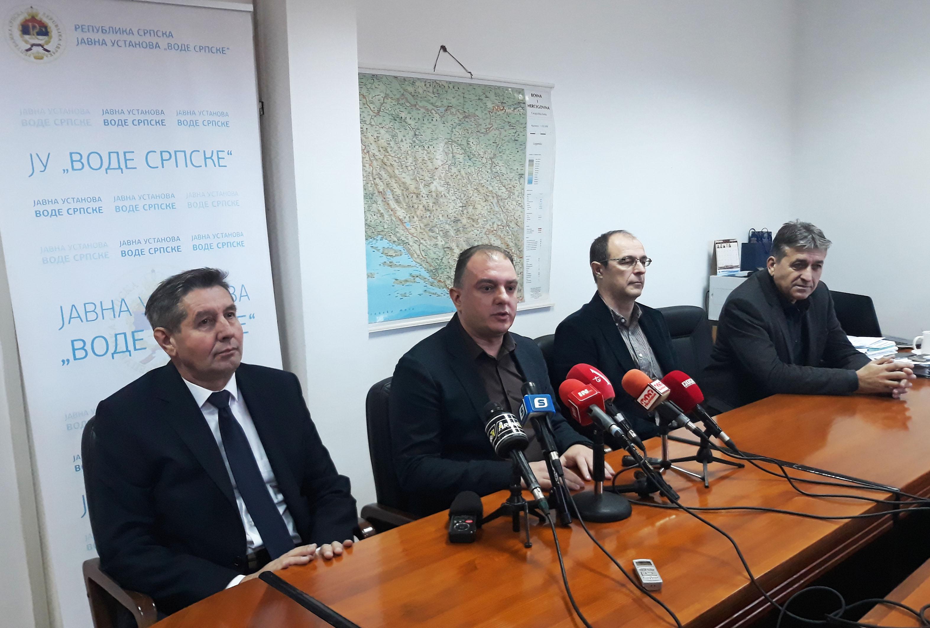 """Jedna od najuspješnijih poslovnih godina za JU """"Vode Srpske"""""""