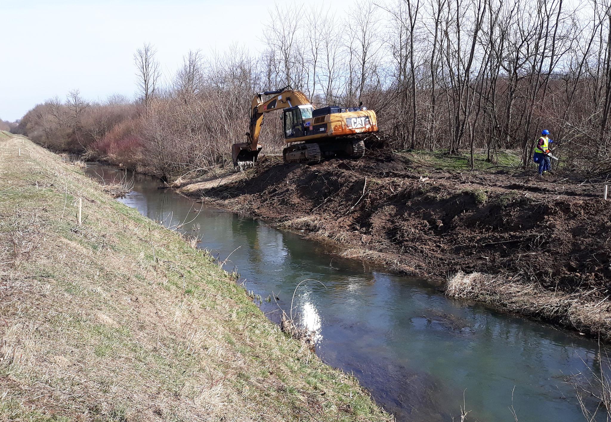 Почели радови на изградњи мјера заштите од поплава на подручју општине Брод
