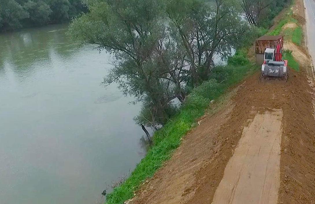 Мјере редовне одбране од поплава на подручју Козарске Дубице