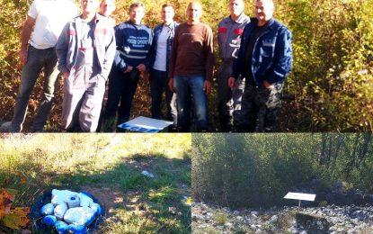 Обиљежавање водног земљишта на подручју општине Љубиње