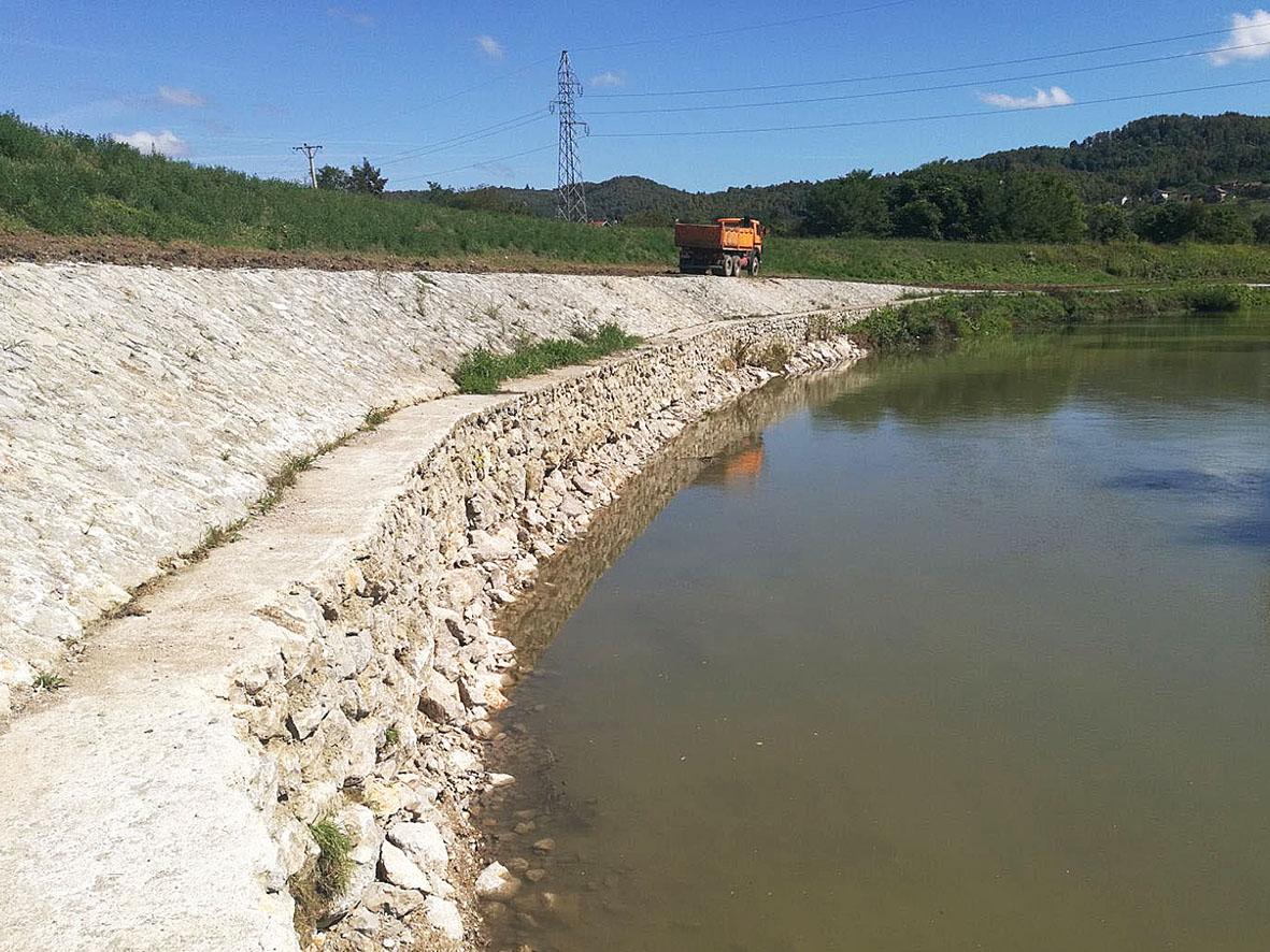 Мјере одбране од поплава на подручју Града Бања Лука, у насељу Чесма