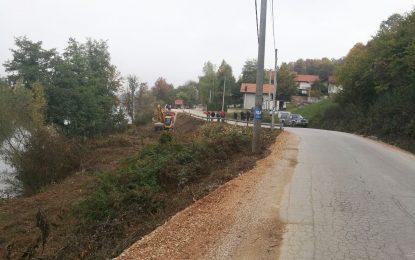Почела санација клизишта у Пријечанима