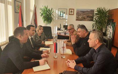 Trebinje: Sastanak o izgradnji sistema za navodnjavanje