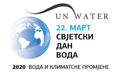 Svjetski dan voda 2020: Voda može da pomogne!