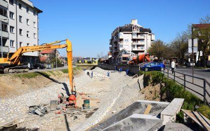 Бијељина: Радови на уређењу канала Дашница улазе у завршну фазу