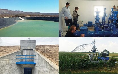 Изградња система за наводњавање у Републици Српској: До сада уложено 38,7 милиона марака