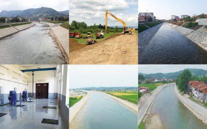 Градилишта широм Српске: Успјешно провођење мјера заштите од поплава
