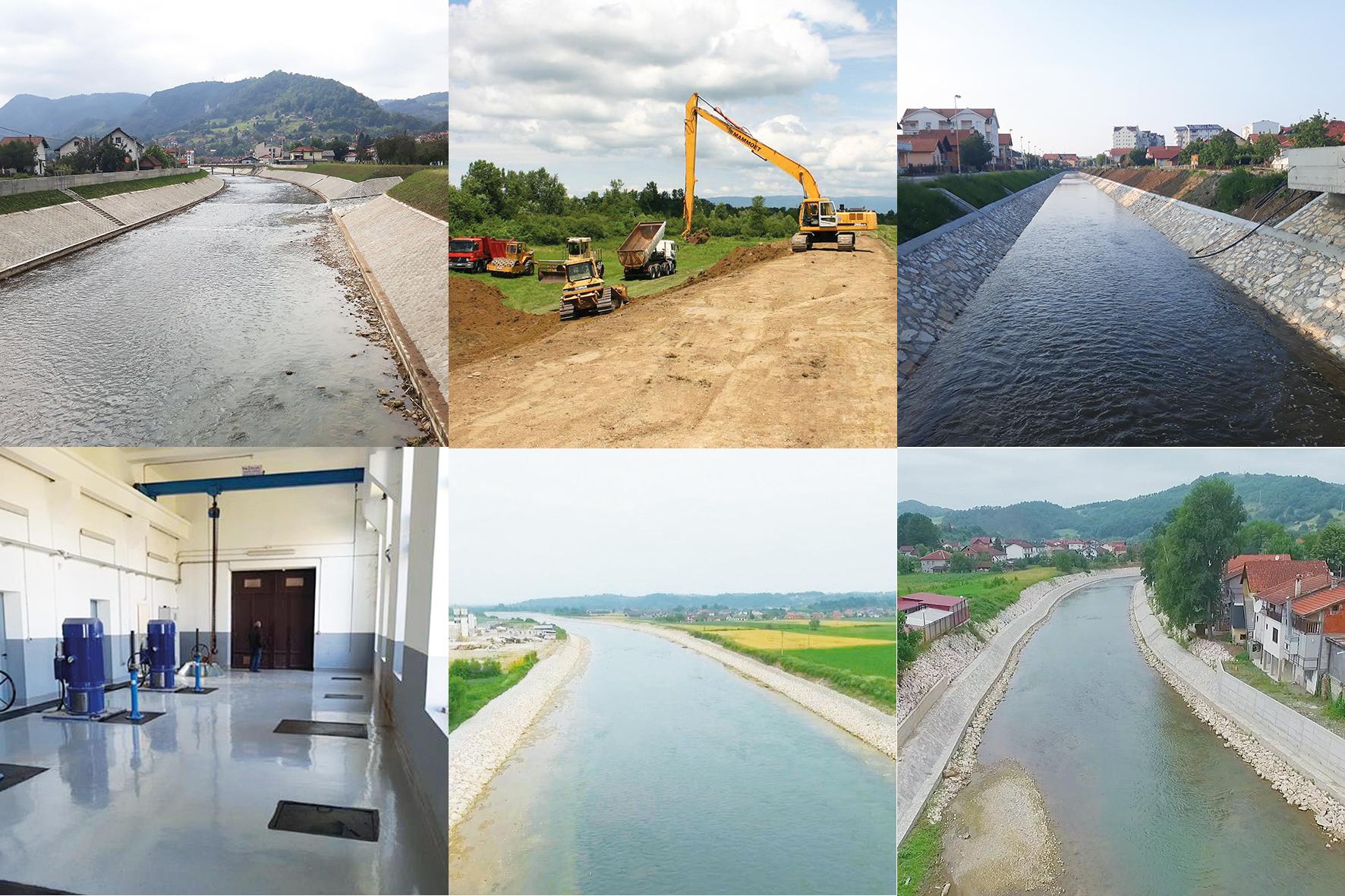 Gradilišta širom Srpske: Uspješno provođenje mjera zaštite od poplava