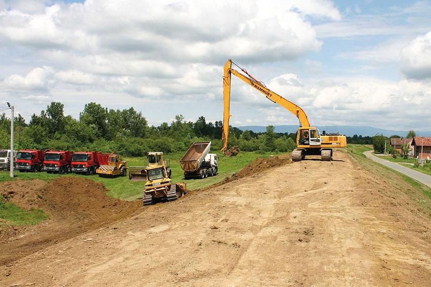 Инвестиције на подручју Градишке (2014-2021): Реконструкција савског насипа, црпних станица и каналске мреже